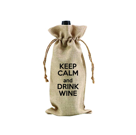 Picture of Keep Calm and Drink Wine.. Wine Bag