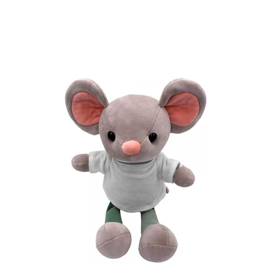 Picture of Mouse Plush Toy with T-shirt