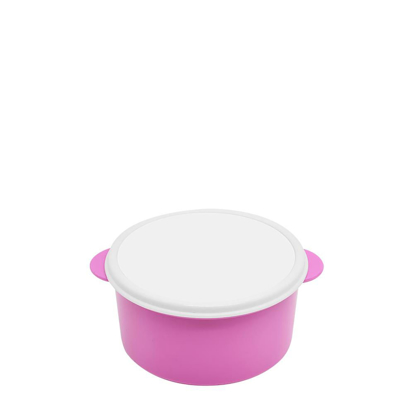 Picture of Pink Round Lunch Box