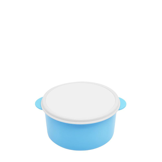 Picture of Blue Round Lunch Box
