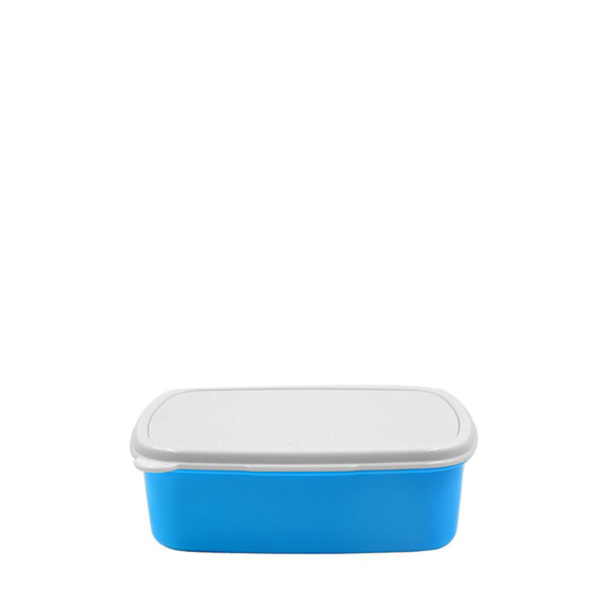 Picture of Blue Rectangular Lunch Box