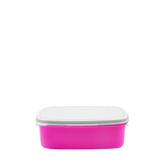 Picture of Pink Rectangular Lunch Box