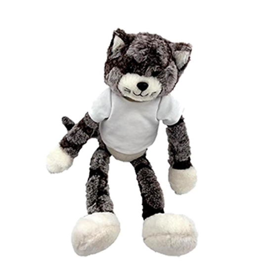 Picture of Cat Plush Toy with T-shirt
