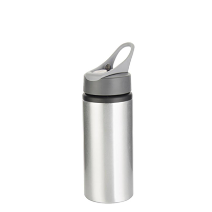 Picture of Silver Water Bottle with Handle