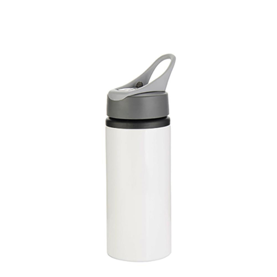 Picture of White Water Bottle with Handle