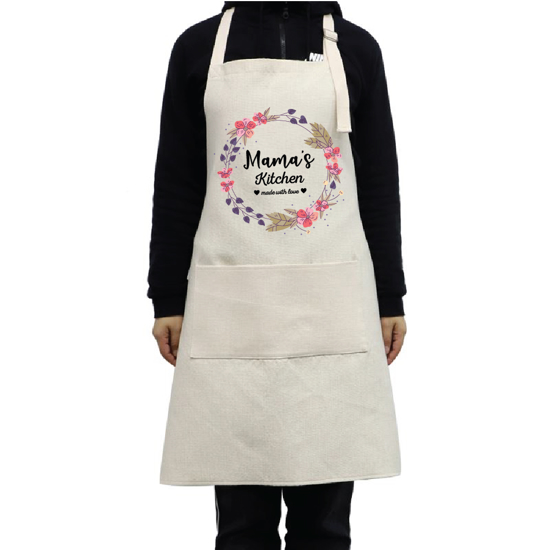 Picture of Mama's Kitchen Linen Apron