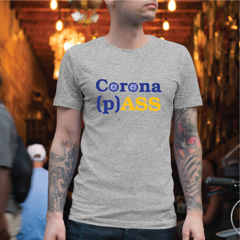 Picture of Corona (p)ASS T-shirt