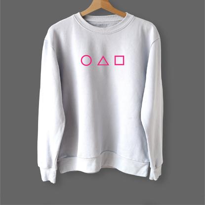 Picture of Squid Game Symbols Sweatshirt